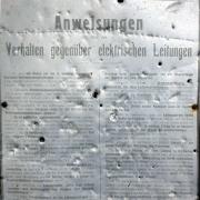 Tafel der Bernischen Kraftwerke von 1932, Ballenberg